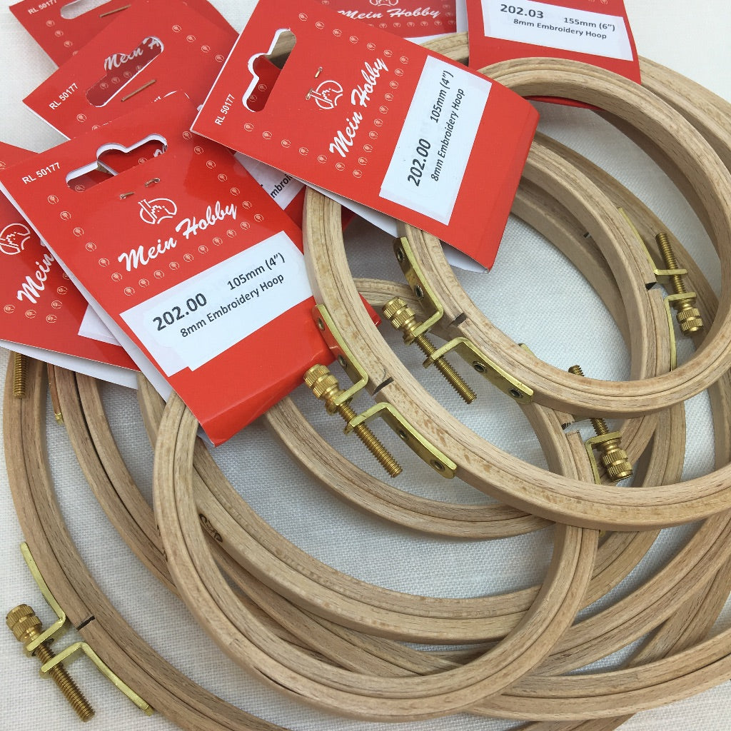 Klass & Gessmann 8mm (standard)  Embroidery Hoop