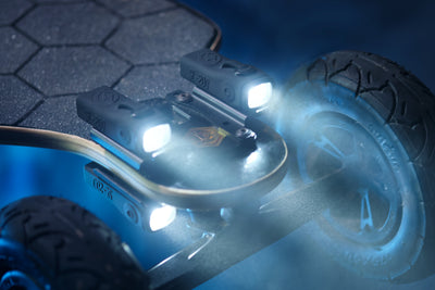 LED Headlights and Taillights for Evolve Electric Skateboards