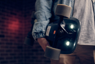 Lighting Up Your Electric Skateboard and Longboard - Safety can be Stylish