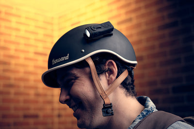 LED Bike Helmet Lights - Easy Mounting - Attach to Helmet
