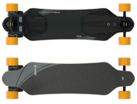 The Exway Flex Riot is a well-made board with plenty of features and solid performance numbers. It may not be the fastest on the list, but it has plenty of power for most riders to be pleased and hosts a reliable range.