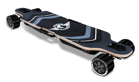 The Meepo AWD Pro is a very powerful and fast board. raw performance at all costs this is a good choice.