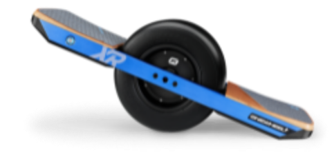 onewheel. impressive range and ability to handle a diverse range of terrains.