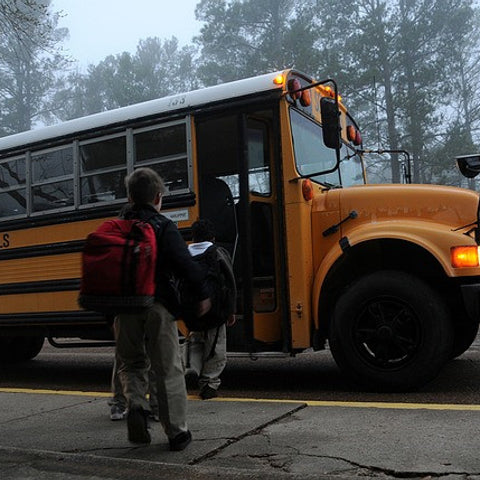 Maryland School Bus Driver Pulls 20 Children From Burning Vehicle