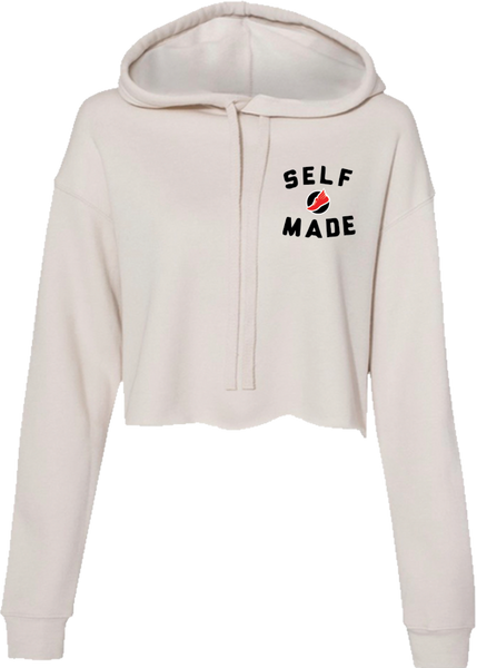 Self Made Cropped Sweater - Lucky Soul