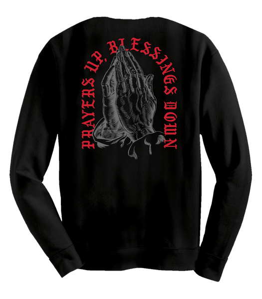 Prayers Up, Blessing Down (Long Sleeve) - Lucky Soul