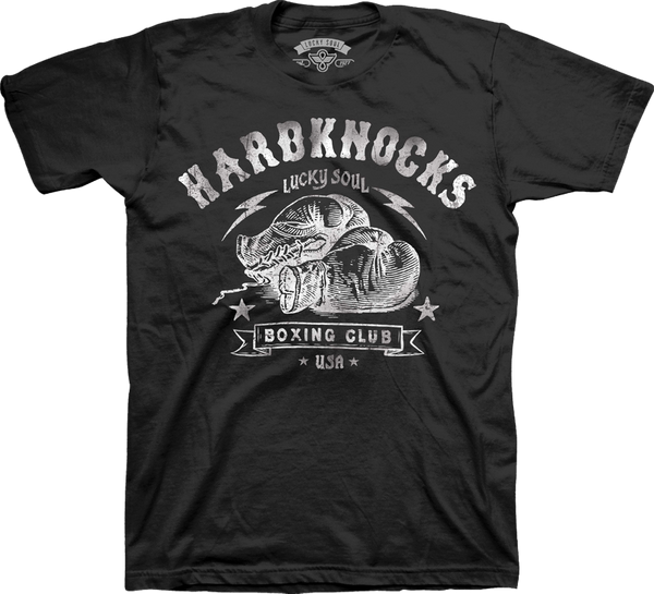 Hard Knocks ( Our Favorite Gym Tee) - Lucky Soul