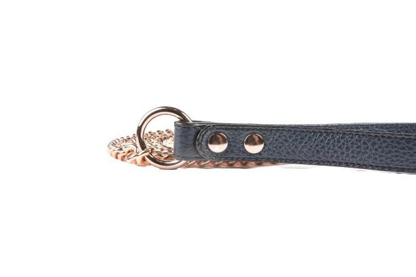 Leads - Lead In Navy Leather