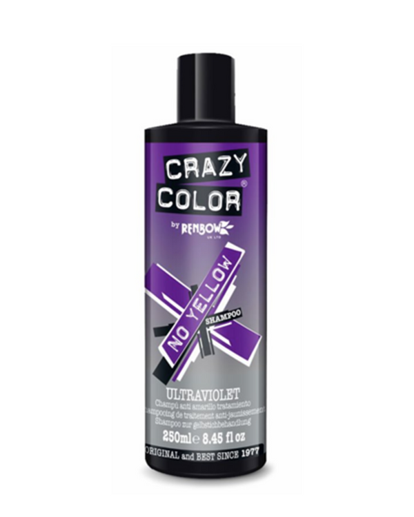 Crazy Color Ultraviolet No Yellow Shampoo 去黃洗頭水