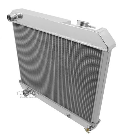 1962 OLDSMOBILE SUPER 88 6.5 L RADIATOR CC2284