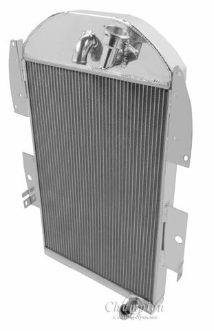 1936 CHEVROLET PICKUP 3.4 L RADIATOR CC3436