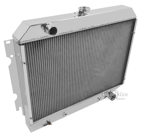 1972 PLYMOUTH SATELLITE 5.2 L RADIATOR CC374