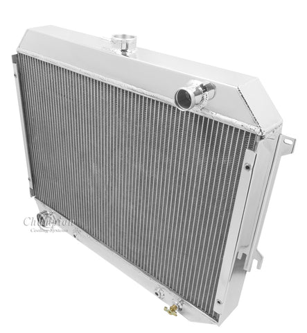 1970 PLYMOUTH SATELLITE 5.6 L RADIATOR CC375