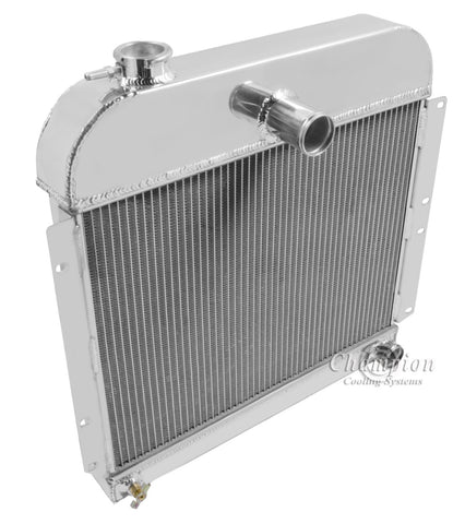 1948 PLYMOUTH P15 DELUXE 3.6 L RADIATOR CC4152