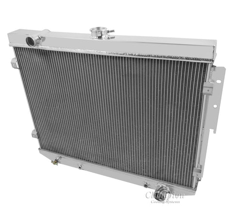 1974 PLYMOUTH SATELLITE 5.2 L RADIATOR CC504