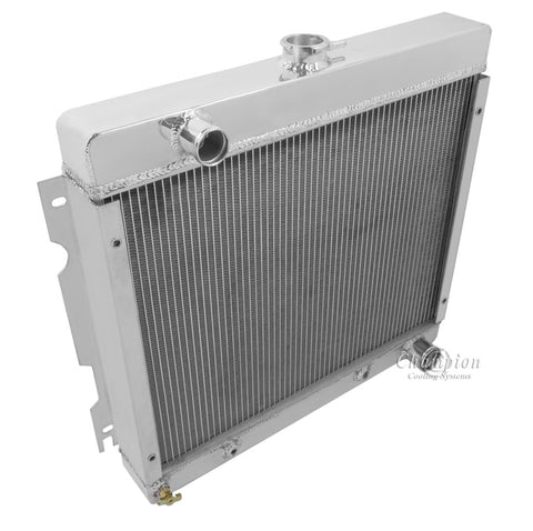 1972 PLYMOUTH VALIANT 3.2 L RADIATOR CC526