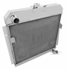 1953 DODGE B-4 3.8 L RADIATOR CC5354