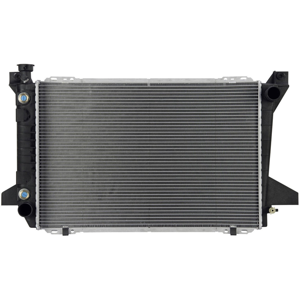 1988 FORD BRONCO 5.8 L RADIATOR MIZ-1453