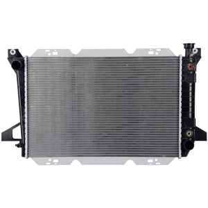 1987 FORD BRONCO 4.9 L RADIATOR MIZ-1454