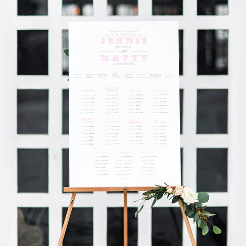 Carousel Table Plan
