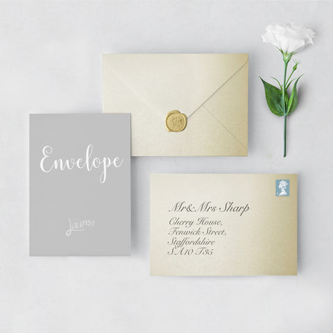 Champagne Envelopes