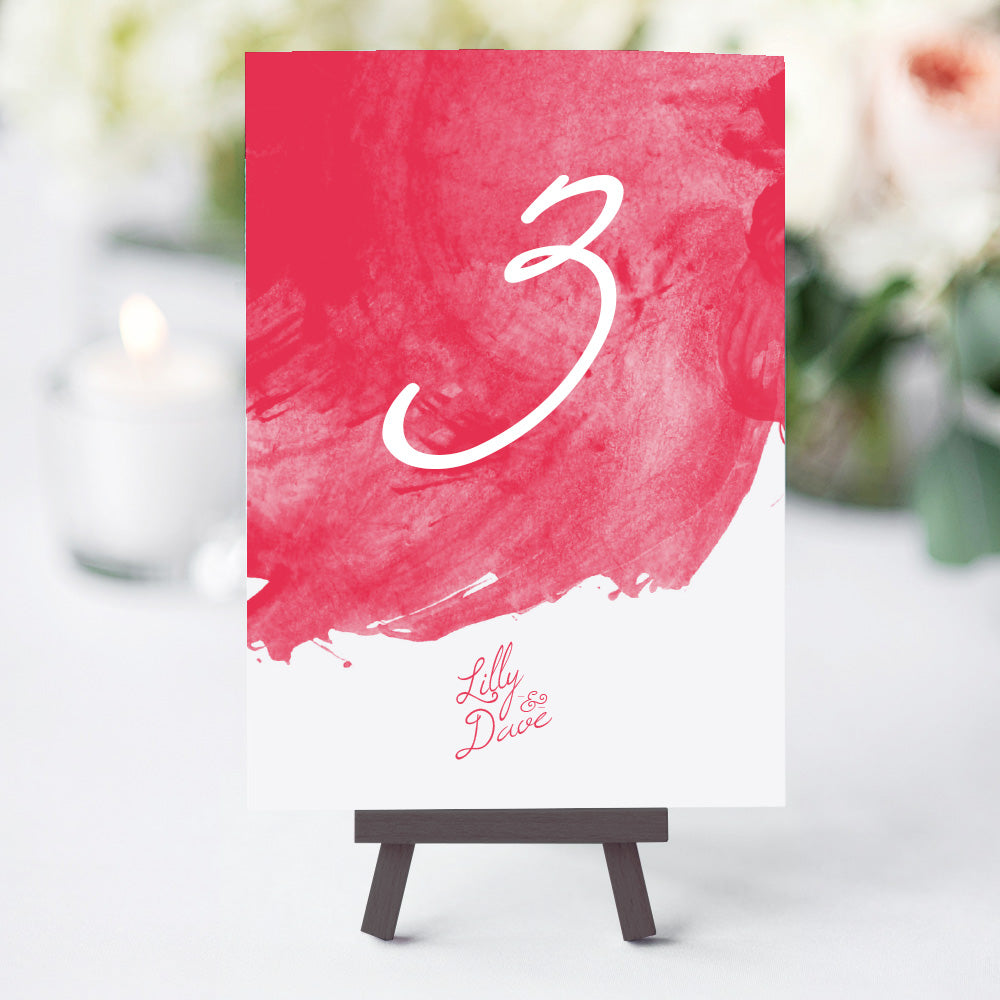 Cocktails Table Numbers