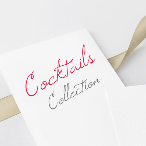 Pre Wedding Cocktails Collection