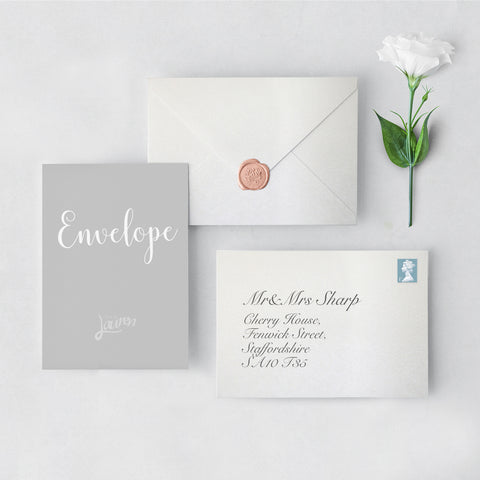Diamond Envelopes