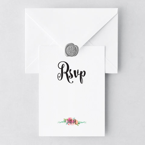 Garden Party RSVP Cards
