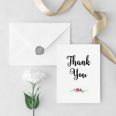 Garden Party Thank You Cards