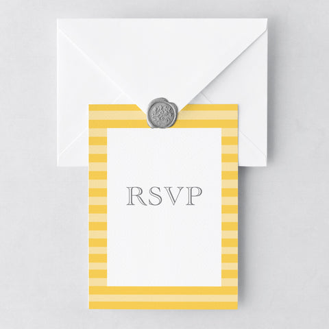At The Seaside RSVP Cards