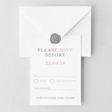 Tie The Knot RSVP Cards