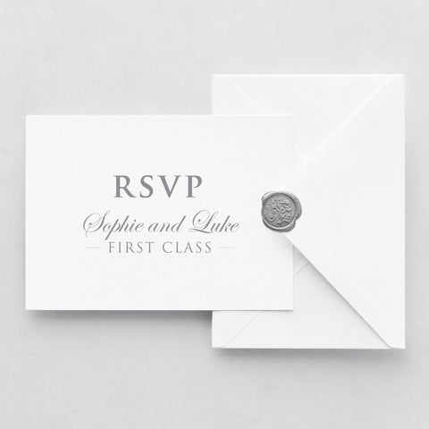 Come Fly With Me RSVP Cards