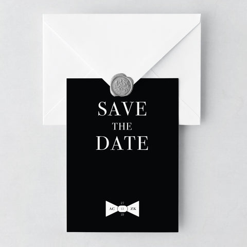 Black Tie Save The Date