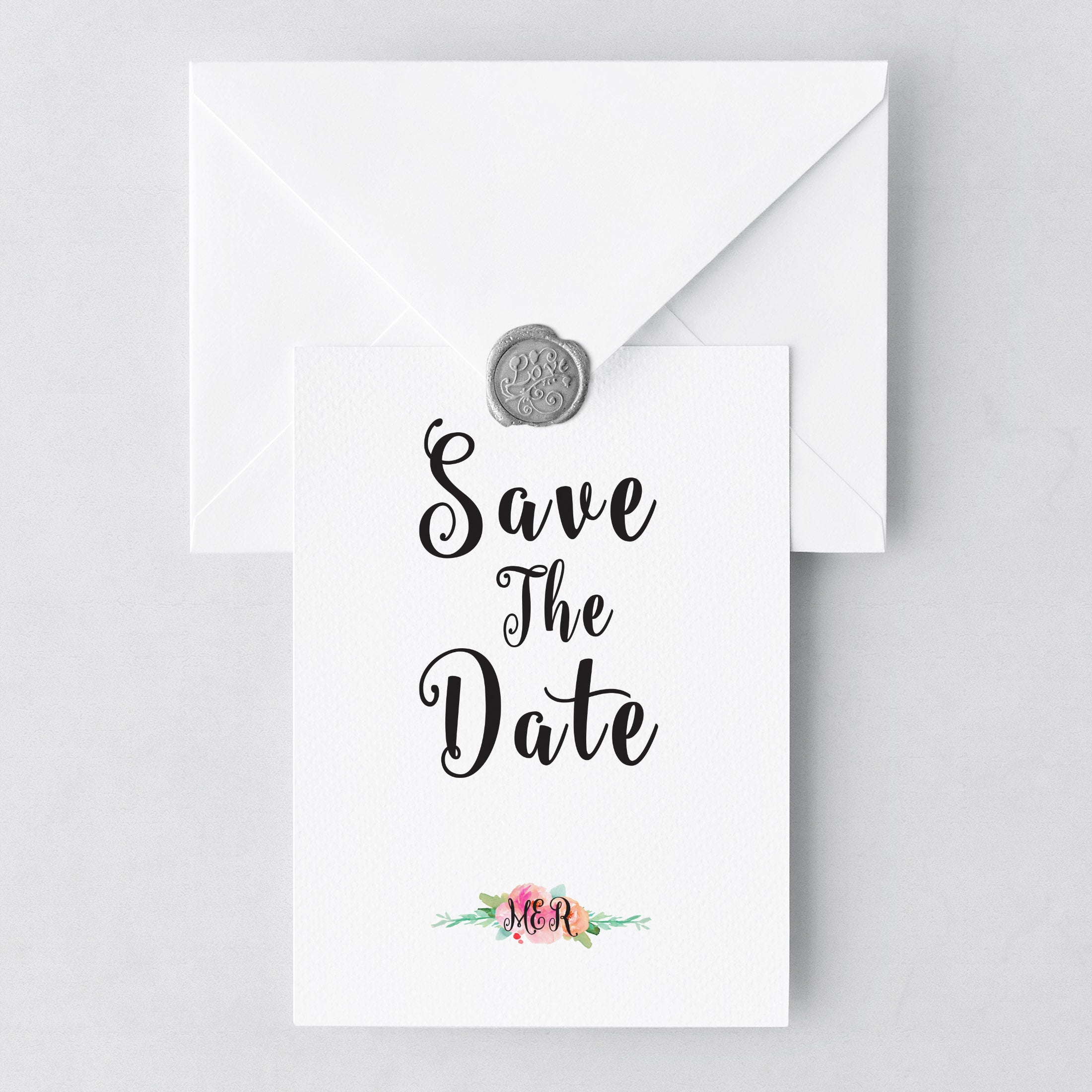 garden party save the date made by lauren