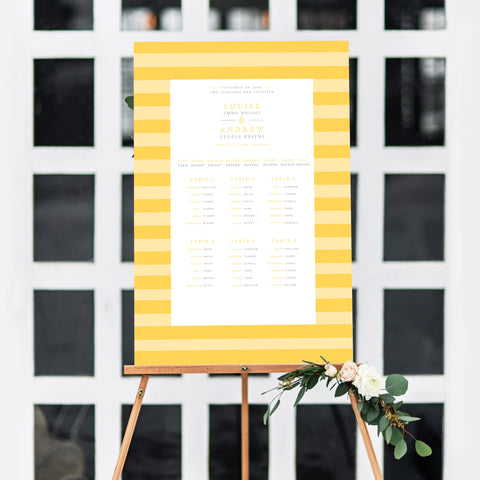 At The Seaside Table Plan