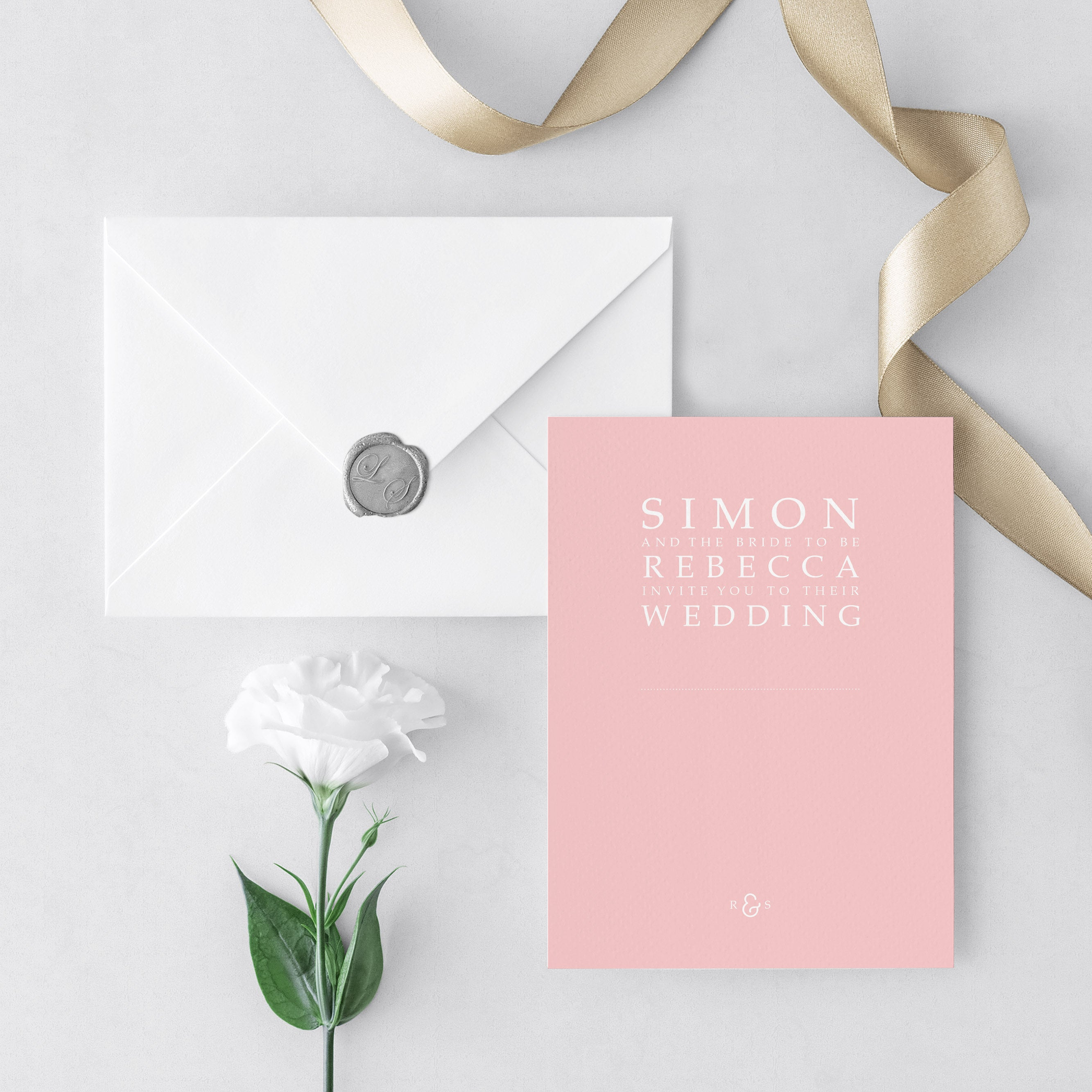Pastel Wedding Invitations – Made By Lauren