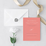 Tie The Knot Wedding Invitations