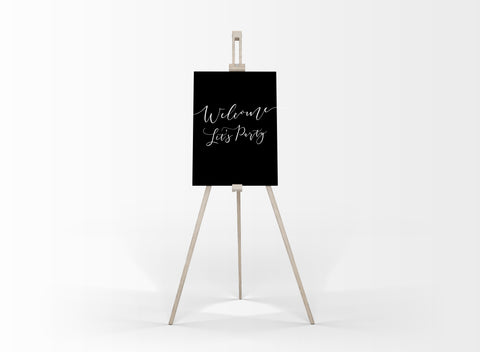 Wedding Easel- Table Plan Easel/Welcome Sign Easel