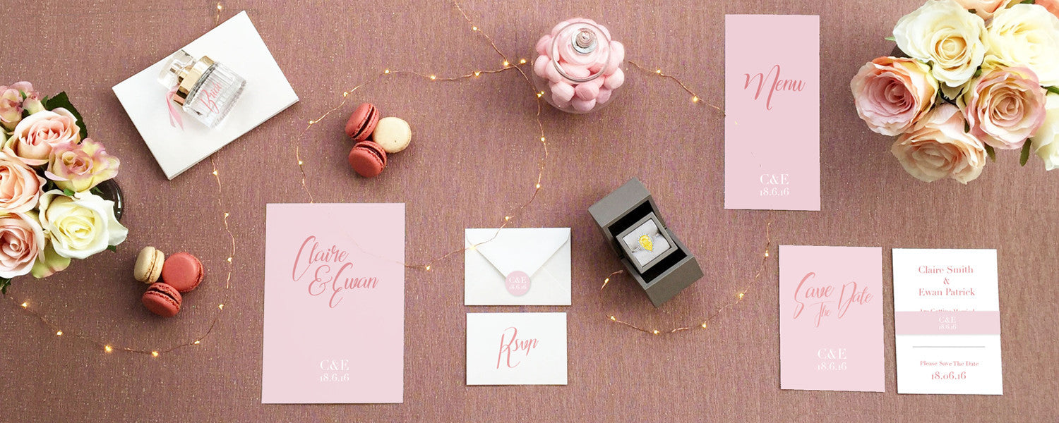 Glamour Wedding Stationery