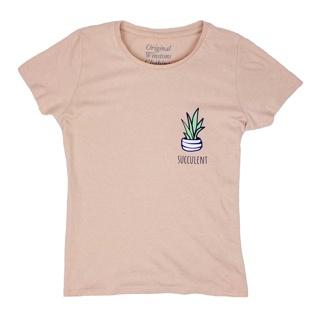 Winstons Women's Succulent - Washed Pink