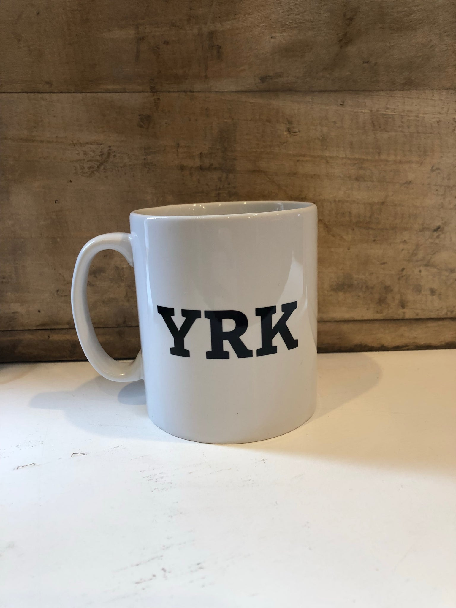 Winstons - YRK Mug - White - Winstons of York