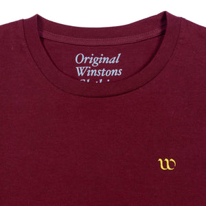 Winston's Everyday T-Shirt - Burgundy