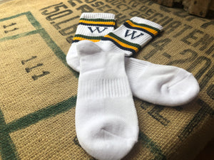 Winston's Socks - Green/Gold/Navy