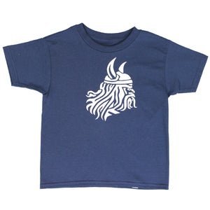 Winstons Kids Viking T-Shirt - Navy