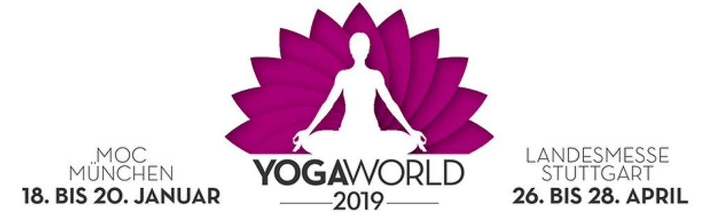 Triff ETERNAL BLISS auf der Yoga World Stuttgart vom 26. bis 28. April 2019