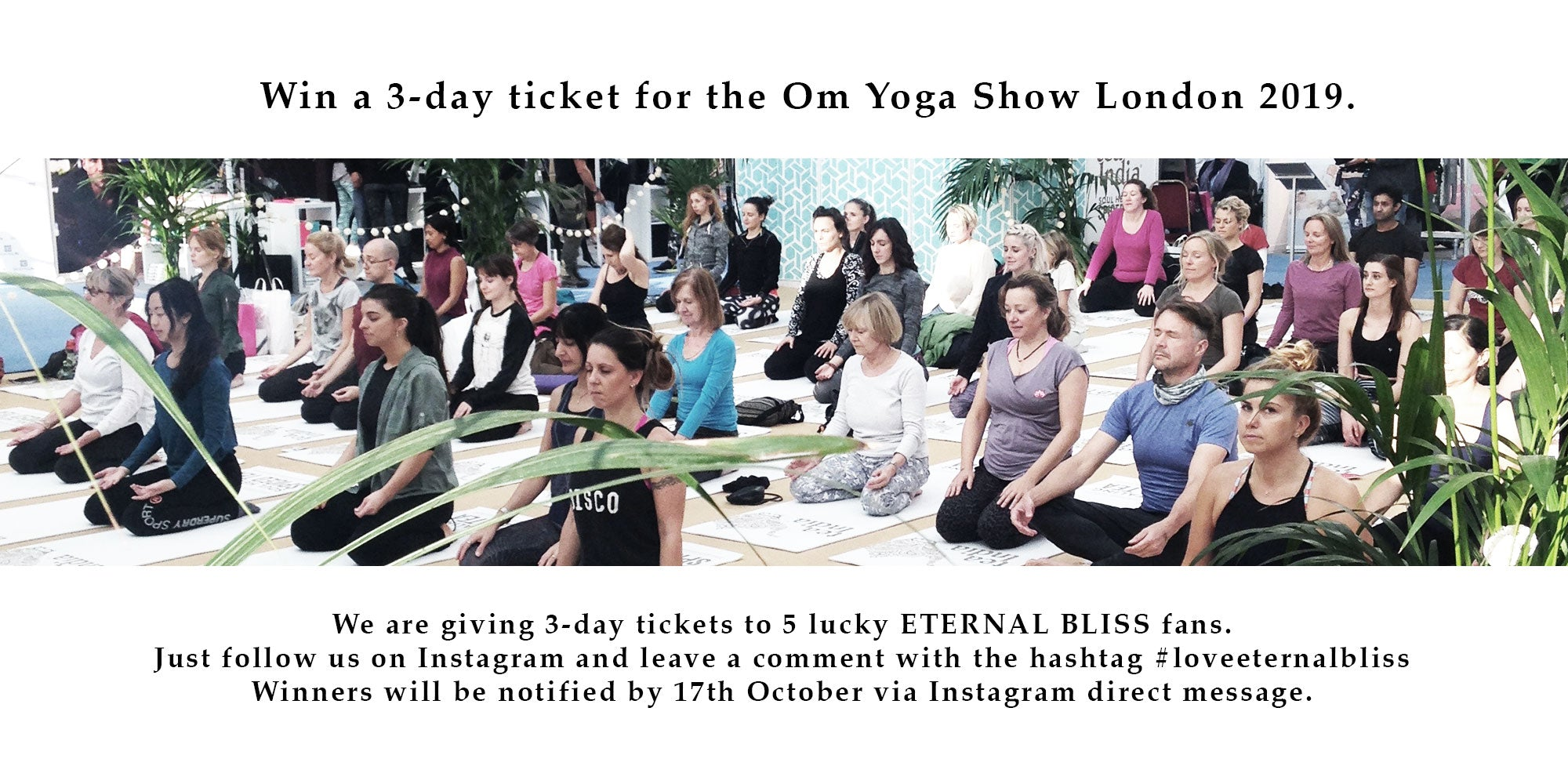 Win a 3-day ticket for the OmYoga Show London 2019