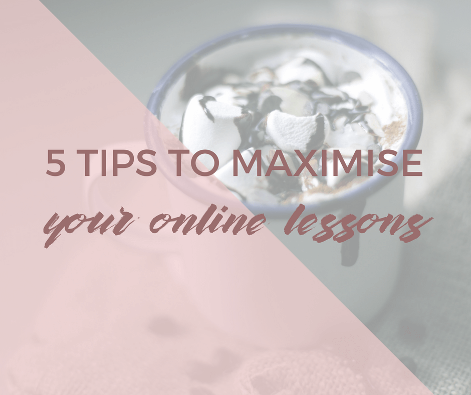 5 Tips to maximise learning French online