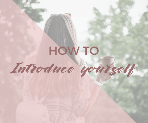 How to introduce yourself in French