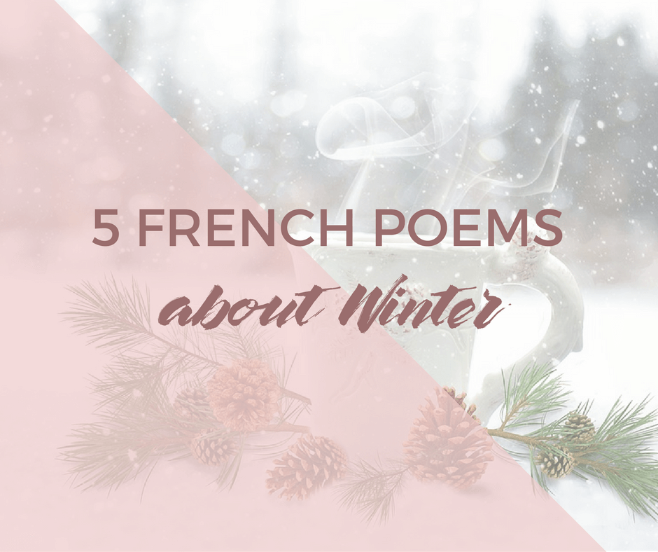 5 French poems about Winter